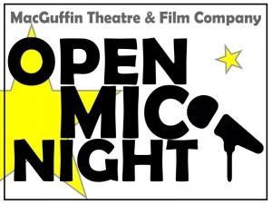 Open Mic logo best